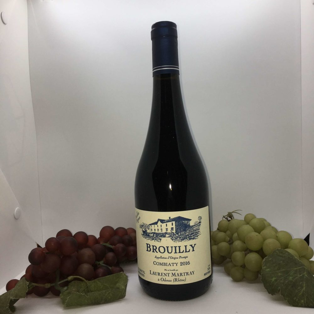 bouteille-vin-Brouilly-laurent-martray